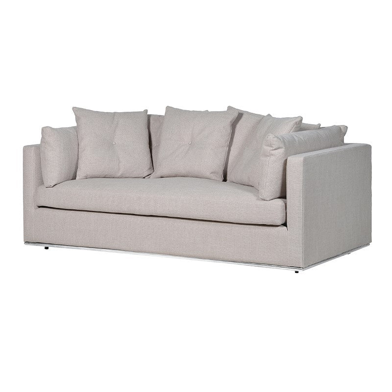 Natural 2 seater sofa