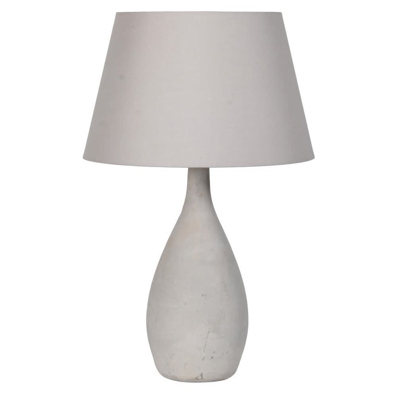 Modern concrete table lamp