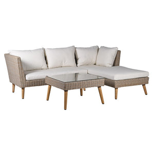 Paxford corner sofa and coffee table set