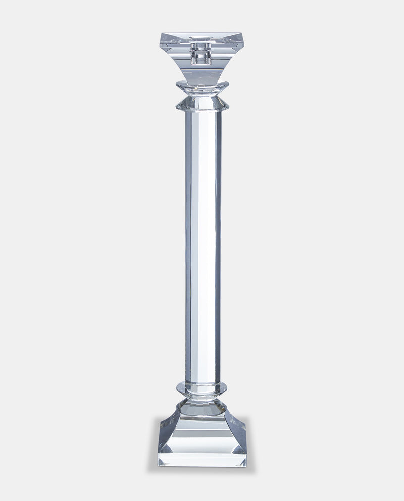 Modern Cut Glass candle stick