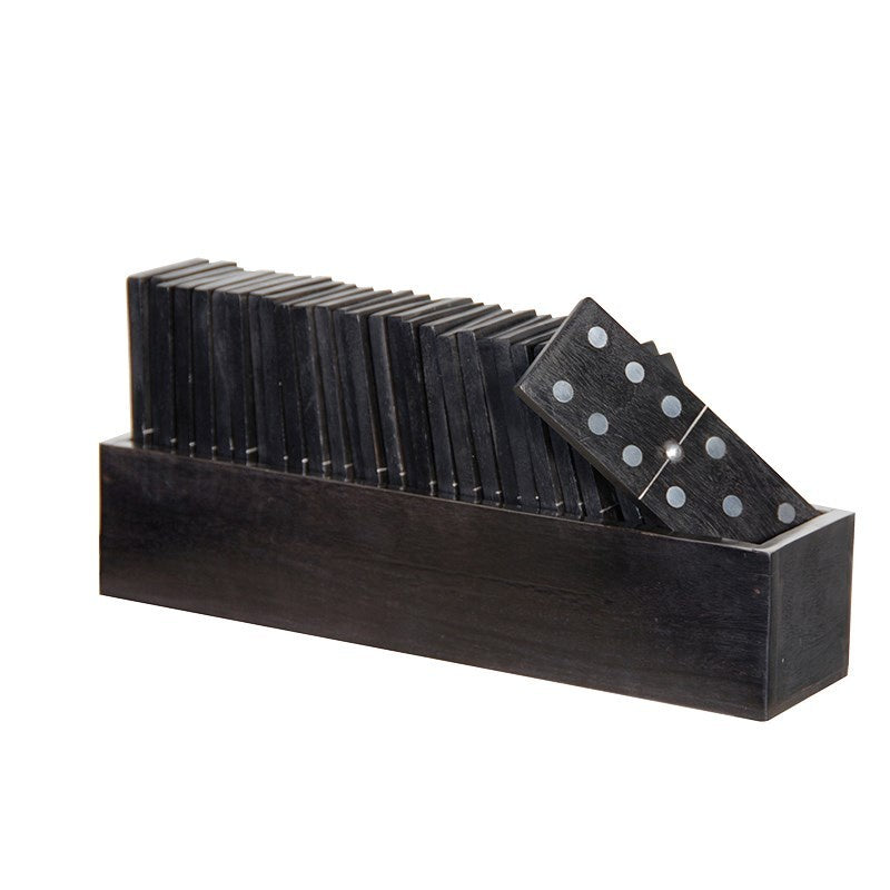Wooden Dominoes In Box (28)