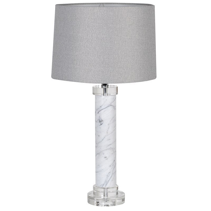Marble  lamp with shade