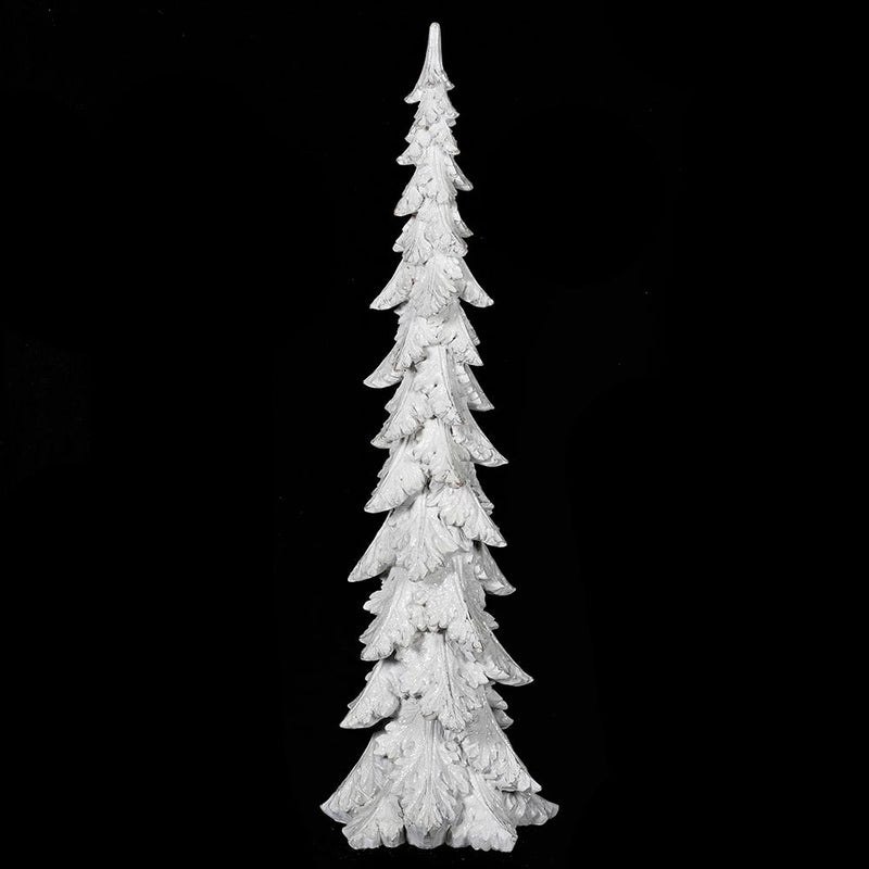 Large white glitter tree
