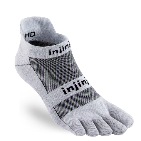 Injinjii Run Lightweight No-Show - gray