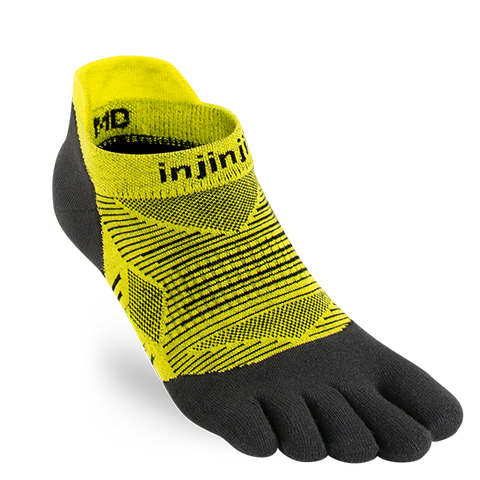 Injinjii Run Lightweight No-Show - limeade