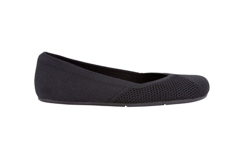 Xero Shoes Phoenix Ballerina - black knit