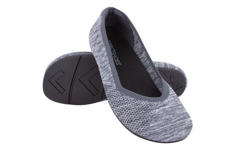 Xero Shoes Phoenix Ballerina - gray knit