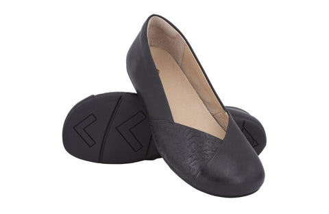 Xero Shoes Phoenix Ballerina - black leather