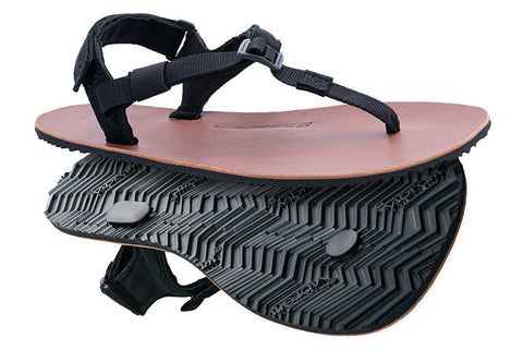 Shamma Sandals Warriors mit Lederfußbett