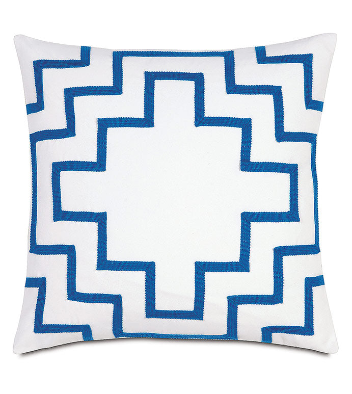 MEDITERRANEAN SOLSTICE OUTDOOR THROW PILLOW