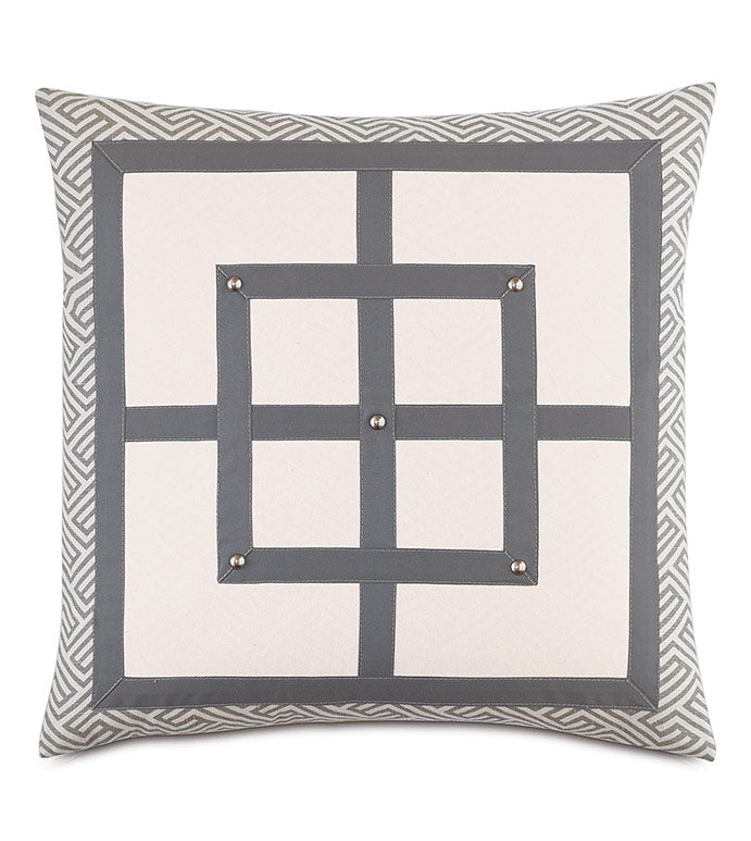 ZEN SQUARE THROW PILLOW