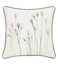 PROVENCE FLEURS HANDPAINTED OUTDOOR THROW PILLOW