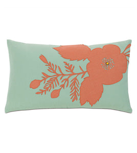 PROVENCE COQUELICOT OUTDOOR THROW PILLOW