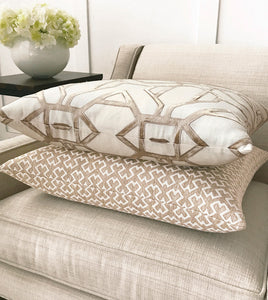 SINA SIENNA DECORATIVE PILLOW