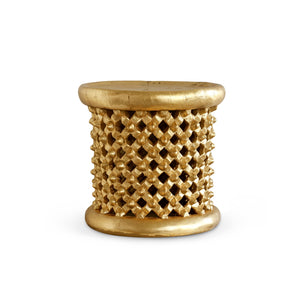 KANO SIDE TABLE, GOLD