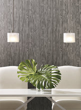INDUSTRIAL INTERIORS CRAFTSMAN WALLPAPER SMOKE, SAND, CANYON, GREY, ONYX