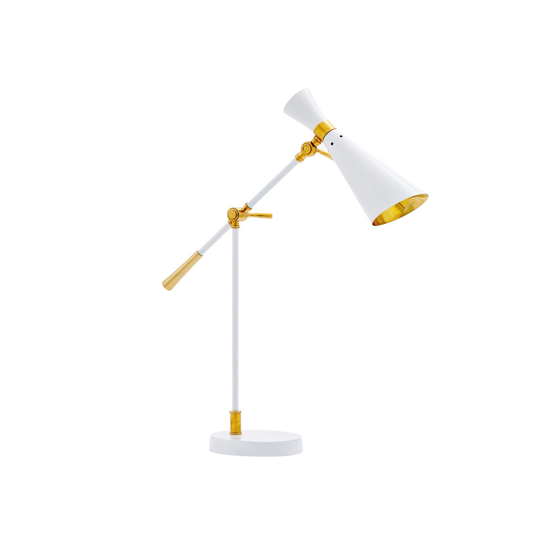 WASP TABLE LAMP WHITE