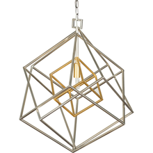 BLAIR GEOMETRIC FIXTURE SILVER GOLD ACCENT