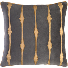 CANDICE OLSON GRAPHIC STRIPE PILLOW GRAPHITE