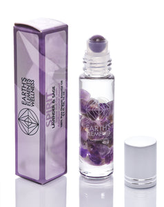 EARTH'S ELEMENTS ESSENTIAL OILS SPIRIT CRYSTAL ROLL-ONS