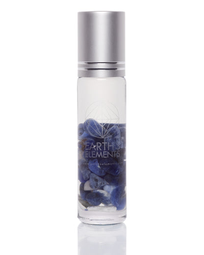 EARTH'S ELEMENTS ESSENTIAL OILS FOCUS CRYSTAL ROLL-ONS