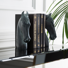 STALLION STONE BOOKENDS