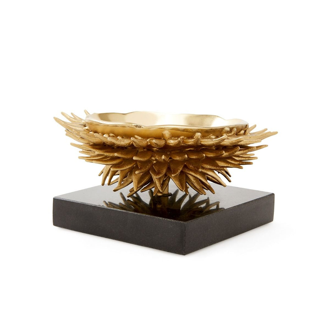 URCHIN BOWL IN BRASS