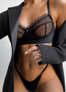 BELLA SET- BLACK