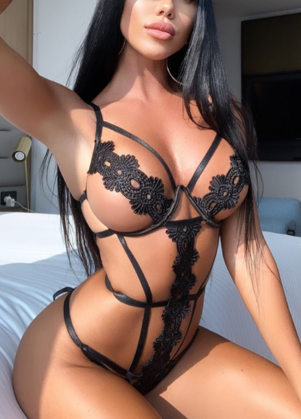 BELLE BODYSUIT- BLACK