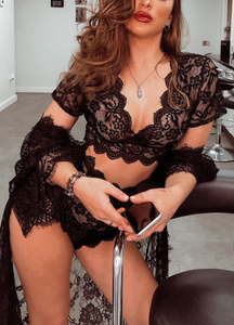 LILIANA SET- BLACK