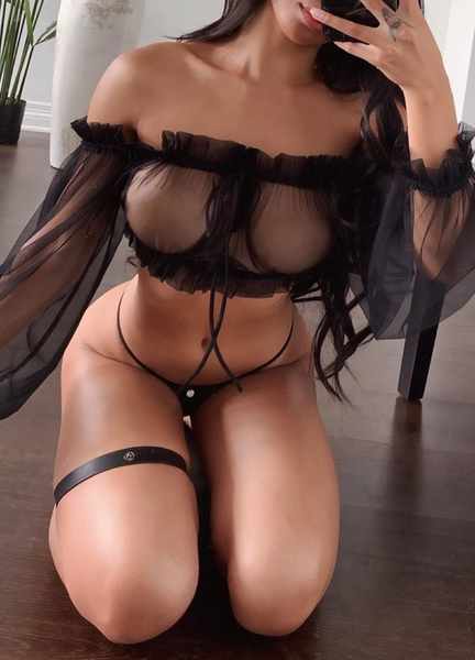 LANA SET- BLACK