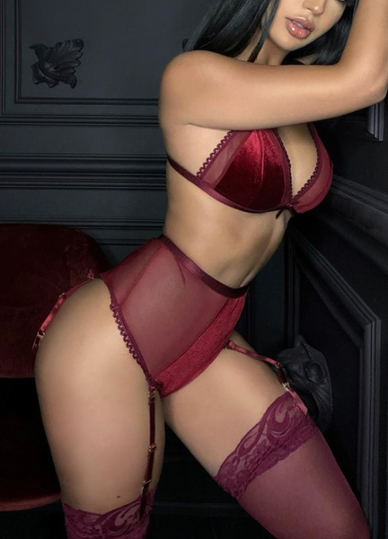 RUBY SET- BURGUNDY