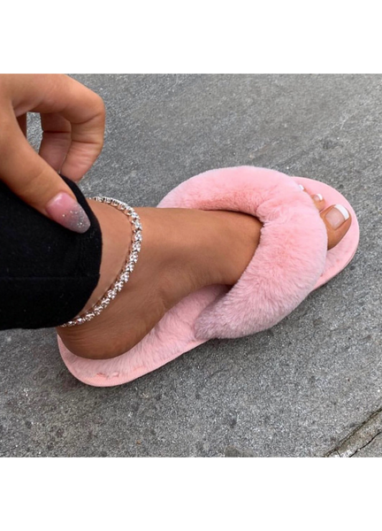 ARYA SLIPPERS- PINK