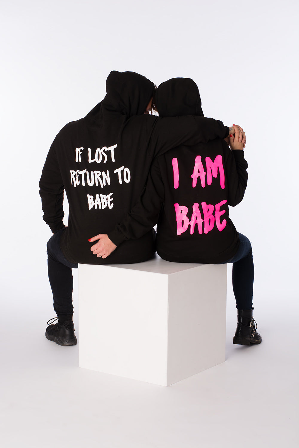 Lost Boyfriend hoodies for him and her