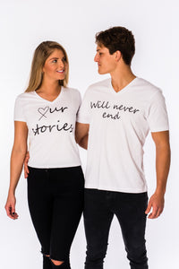 Our Story... T-shirt for couples