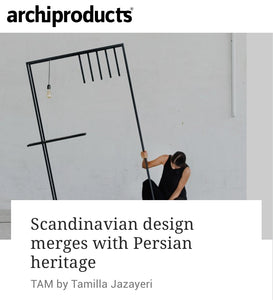 TAM on Archiproducts.com Magazine