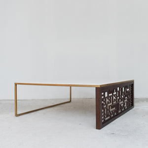 CALLIGRAPHY CENTRE TABLE