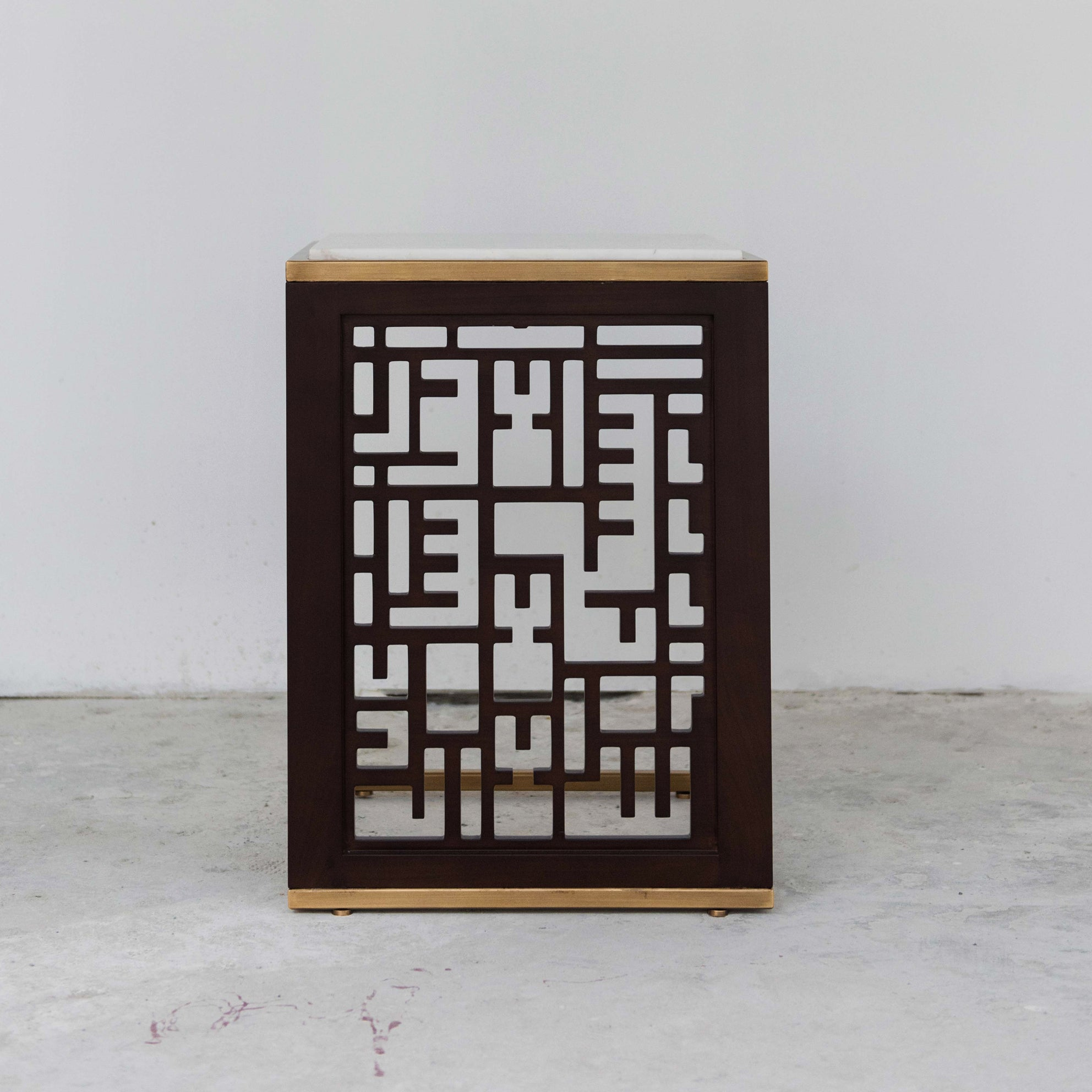 CALLIGRAPHY SIDE TABLE
