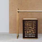 CALLIGRAPHY CONSOLE TABLE