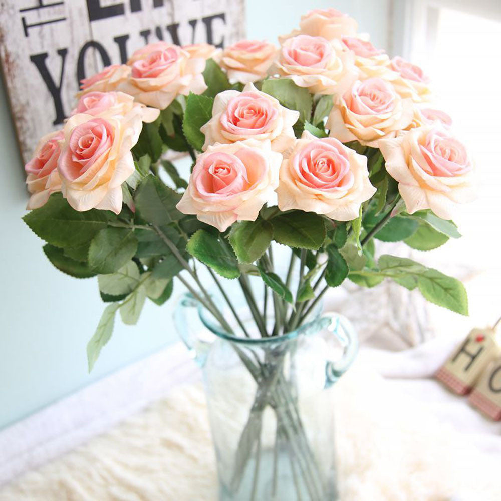 Beautiful Artificial Flowers Roses For Decorations Ey Antiques