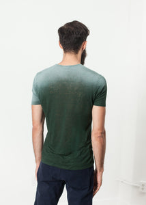 Overprint T-Shirt in Green