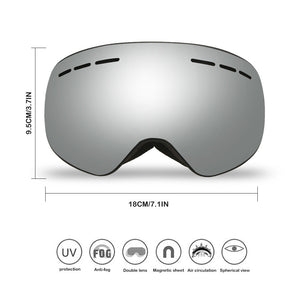 Men and Women Winter Sports Goggles