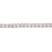 7.00ct 14k  White Gold tennis bracelet