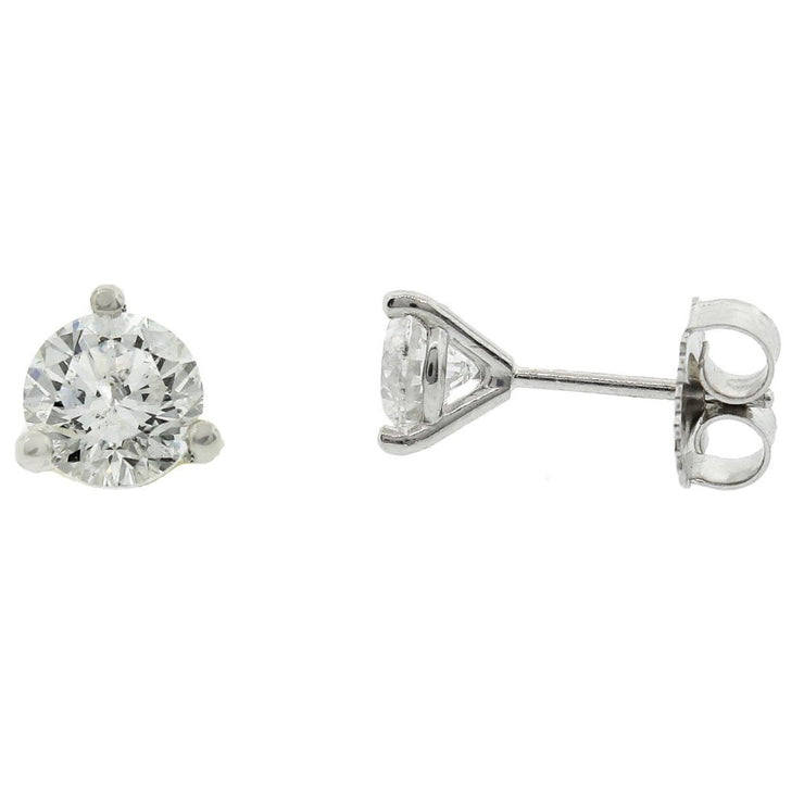 1.20cts. Diamond Stud Earrings