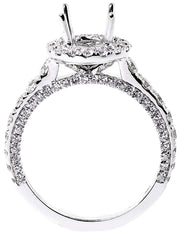 1.40ct 18k Round Diamond Setting