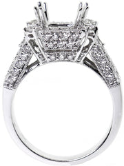 1.25ct 18k Diamond Setting