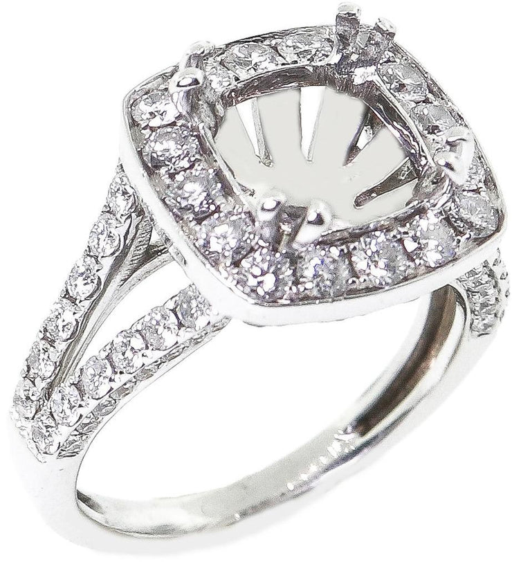 1.70ct 18k Diamond Setting