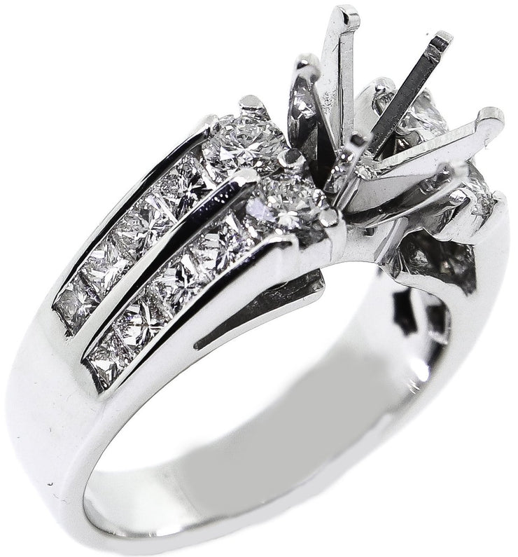1.30ct 18k Solitaire Diamond Setting