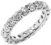 3.24ct 18k Eternity Band