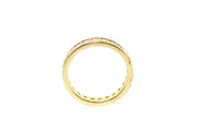 1.65ct 14k Yellow Gold Art Deco style eternity band